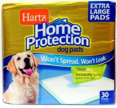 Hartz (Хартц) Home Protection Training Pads® Dog Pads extra large собак - 30 шт